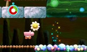 Yoshi's New Island - Mine Cart + Flower | oprainfall