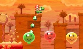 Yoshi's New Island - Balloon Pop & Hop | oprainfall