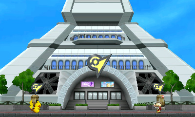Pikachu and Olimar at Lumiose City Stage - Smashing Saturdays | oprainfall