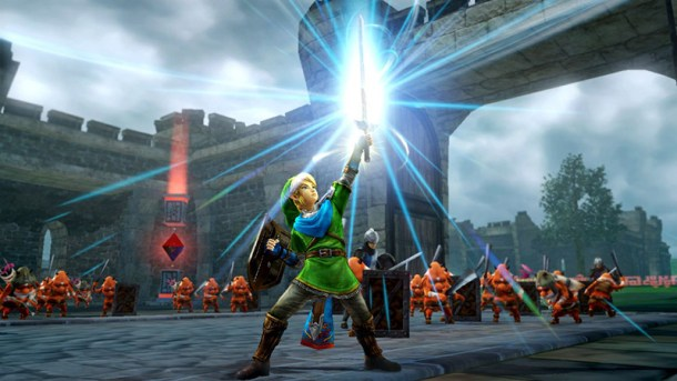 Hyrule Warriors - Link Fights | oprainfall
