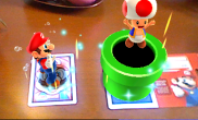 N3DS Photos with Mario - Toad