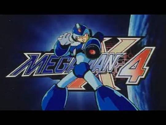 Mega Man X4 | X logo