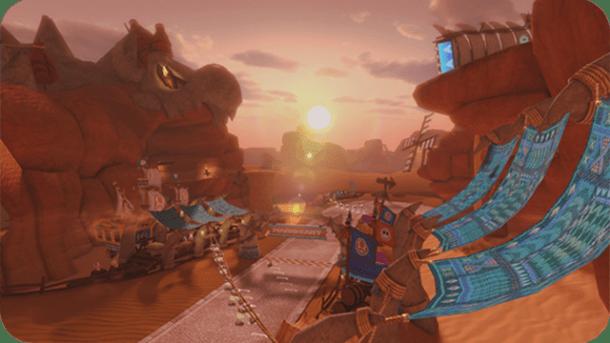 Mario Kart 8 - Bone Dry Dunes   oprainfall