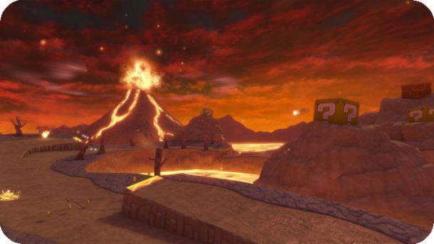 Mario Kart 8 - Grumble Volcano (Wii)   oprainfall