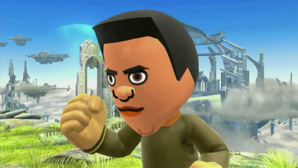 Reggie Fils-AiMii in Super Smash Bros - E3 2014 | oprainfall