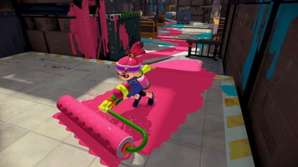 Splatoon - Roller | oprainfall