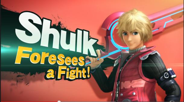 Xenoblade | Shulk - Smash Bros