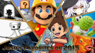My top games of 2015 are a weird bunch of niche goodness