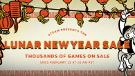 Steam's Lunar New Year Sale is now in full swing over on the Steam Store. Tons of games are on sale, but the sale ends in less than a week!