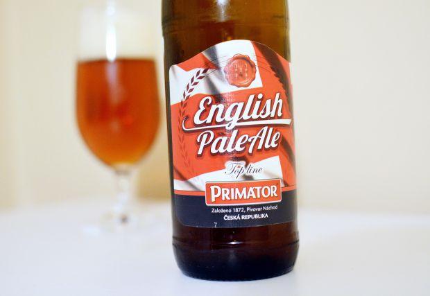 """Keď český pivovar varí britský """"ejl"""" (Primátor English Pale Ale)"""