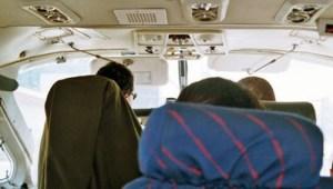 Im Flugzeug zur Halbinsel Osa in Costa Rica