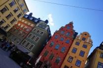 Gamla Stan in Stockholm, die Altstadt