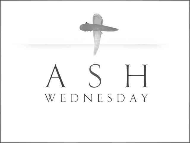 Ash Wednesday Holy Spirit