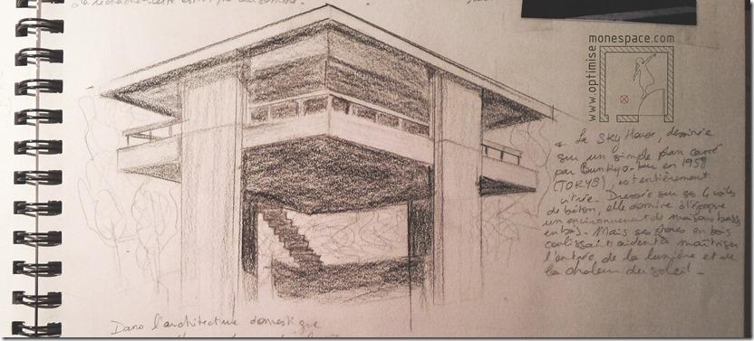 sky house architecte Kikutake Kiyonori