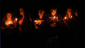 The evening Luminary Ceremony (c. 2010)