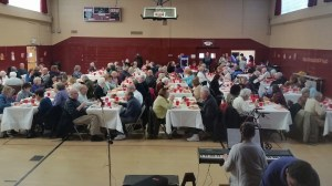 The Orange Lions Club Thanksgiving Dinner was a huge success.