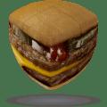 V-CUBE 2 Pillowed - Burger