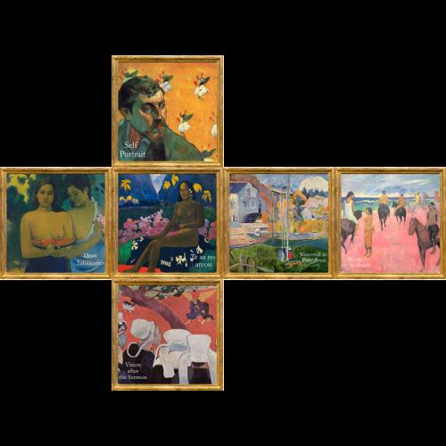 V-CUBE 3 Flat - Gauguin Print