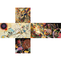 V-CUBE 3 Flat - Kandinsky Print