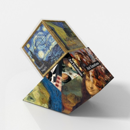 V-CUBE 3 Flat - Van Gogh - In Packaging