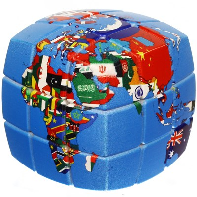 V-CUBE 3 Pillowed - Cube of Nations
