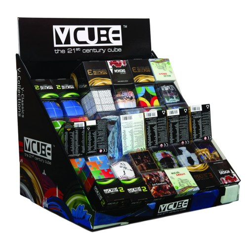 V-CUBE Medium Counter Display