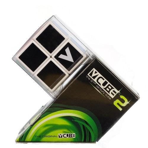 V-CUBE 2 Flat - White - In Packaging