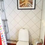 Fräsch wc/dusch