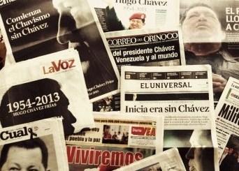 6 de marzo 2013 Muerte de Hugo Chavez