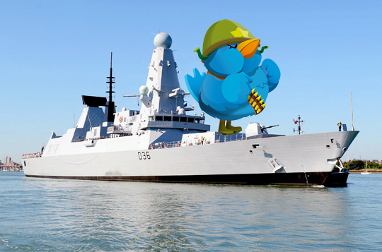 navy twitter