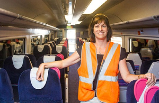 claire perry train
