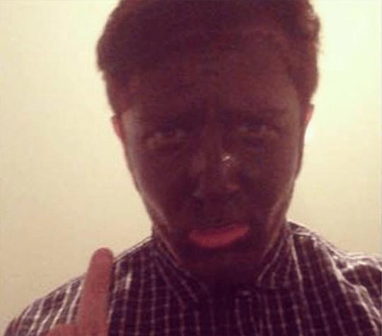 labour black face