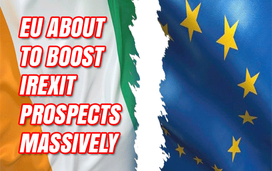 EU RULING AGAINST IRELAND WILL BOOST CHANCES OF IREXIT
