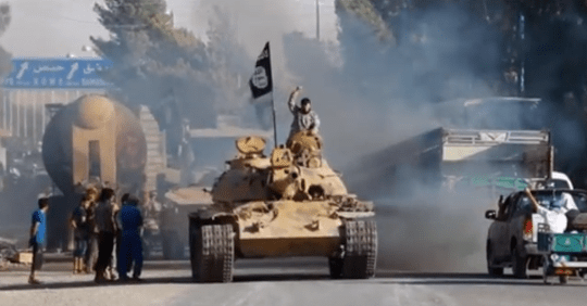 BRUTAL TORY ATTACK AD SAYS LABOUR SOFT ON ISIS
