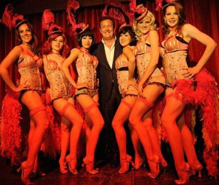 PIERS MORGAN REFUSES TO DENY AFFAIR