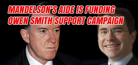 Mandelson Aide Funding Owen Smith