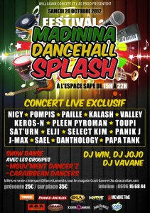 Madinina Dancehall Splash