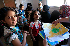 syrian refugees photo