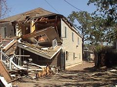hurricane damage photo