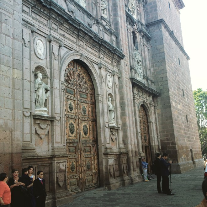 Cathedral's front facade.