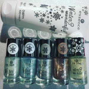 Getting ready to swatch the essence winter wonderful trend collectionhellip
