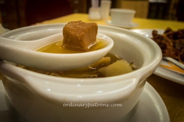 American Ginseng Fish Soup @ Imperial Restaurant
