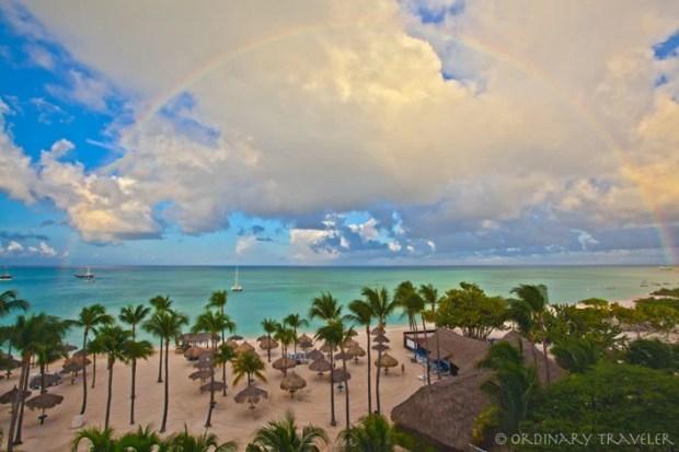 Aruba Marriott Resort Palm Beach Rainbow