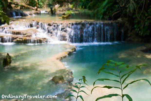Luang Prabang Waterfalls Laos Southeast Asia
