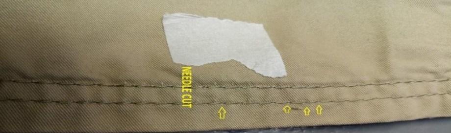 Needle Cut