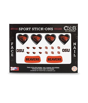 OREGON-STATE-BEAVERS-FACE-AND-NAIL-SPORT-STICK-ONS-OREGON-STATE-UNIVERSITY-TATTOOS-0