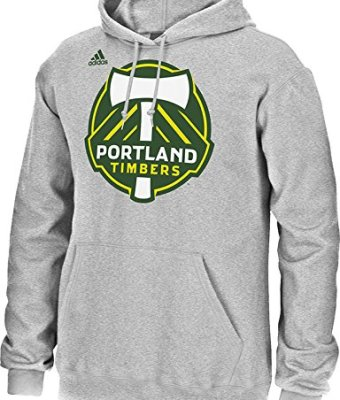 MLS-Portland-Timbers-Mens-Logo-Set-Hooded-Fleece-Shirt-Large-Gray-0