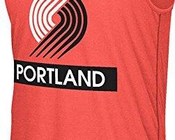 NBA-Portland-Trail-Blazers-Mens-Loud-Proud-Climalite-Ultimate-Tank-Top-Large-Red-0