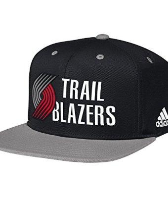 NBA-Portland-Trail-Blazers-Mens-Team-Nation-Snapback-Hat-One-Size-BlackRed-0