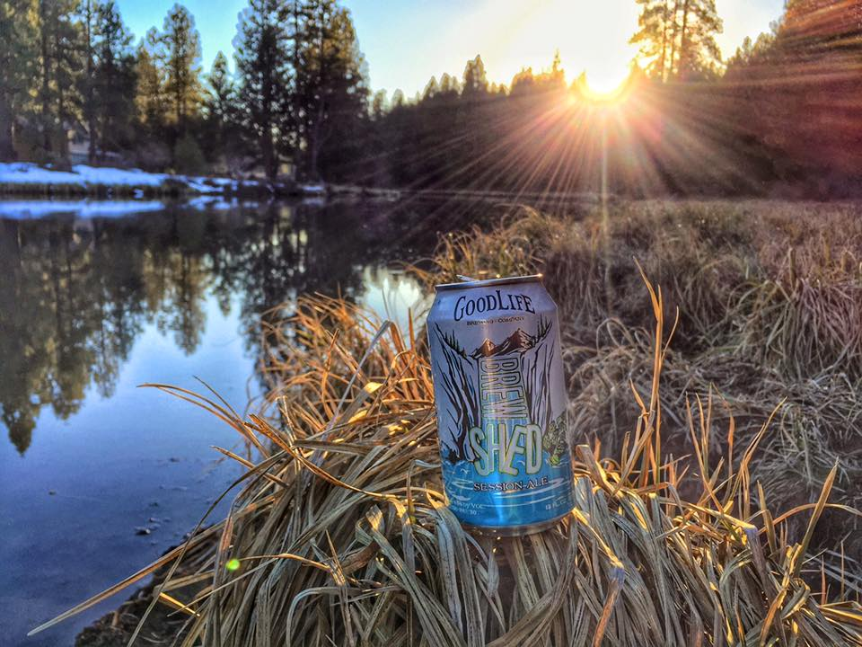 Brewshed® Session Ale (photo courtesy of GoodLife Brewing)